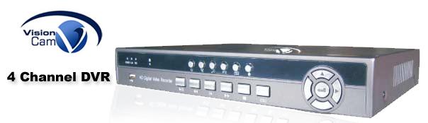 VC-1104 - 4 Channel DVR