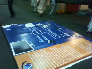 ITCN Karachi EXPO , CCTV IP SETUP BANNER