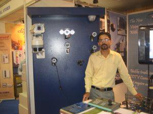 mirza nasir baig , displaying cctv products