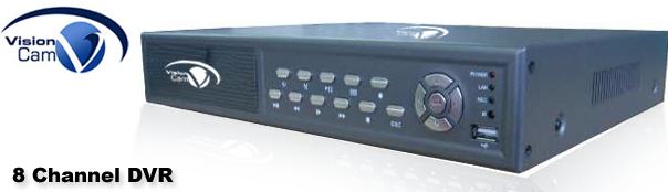 VC-1108 (8 Channel Standalone DVR)