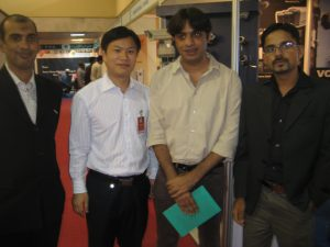farooq hameed foqi , with a chinese guy